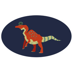 Vector Illustrator: Corythosaurus