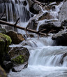 cascading water stream - 242546348