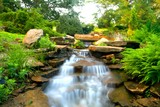 Inniswood Metro Gardens Waterfall, Westerville, Ohio