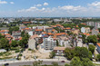 Panoramic view of city Plovdiv from Nebet Tepe hill, Bulgaria - 242556946