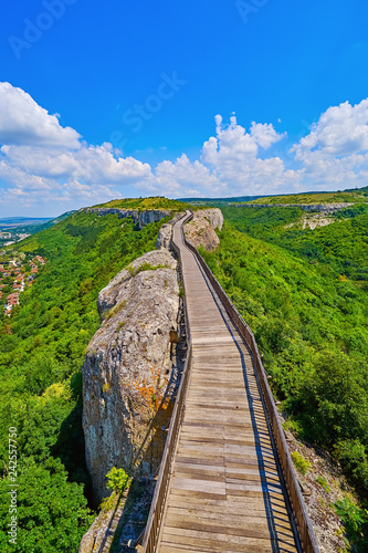 Bridge in Fortress - 242557750