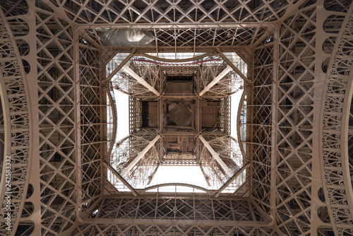 Wall mural Eiffel Tower from Below #2