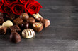 Chocolates and Roses  Perfect Combination for the Woman You Love