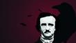Writer Edgar Allan Poe Vector Background