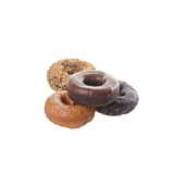 donuts or delicious donuts on a background. - 242602379