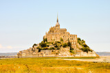 Le Mont Saint-Michel tidal island Normandy northern France - 242604993
