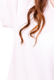 Strand curled long brown hair - 242625120