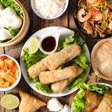 assorted chinese food - 242636734