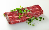 Whole raw trimmed tender fillet steak - 242647930