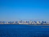 舞浜から眺める東京ベイエリア