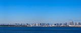 舞浜から見た東京ベイエリアのパノラマ写真