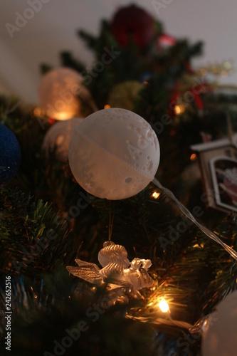 christmas tree with lights - 242652516