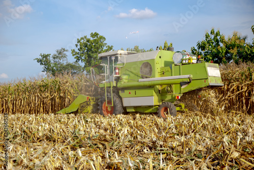Corn Harvester, Corn Harvester from Thailand country