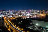 東京 ベイエリア テレコムセンターからの夜景