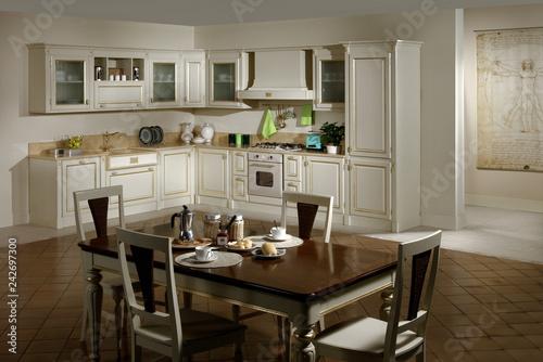 Leinwanddruck Bild Ambiente cucina