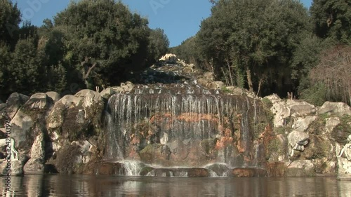 Cascade of the Royal Palace of Caserta