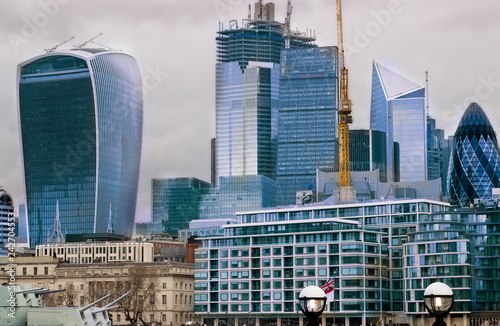 London skyscapers