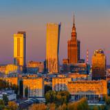 City Center of Warsaw, Poland, Europe - 242708953