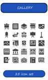 gallery icon set - 242711723