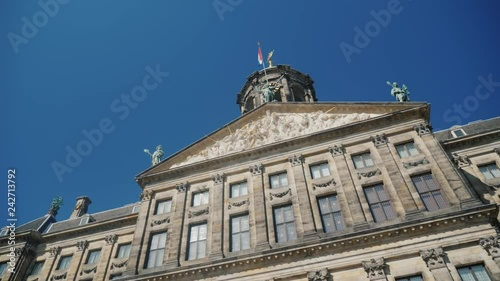 The Royal Palace in Amsterdam is the former Amsterdam Town Hall.