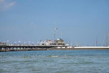 Pier in Sopot. Poland