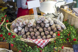 French sausage on a street market - 242721721