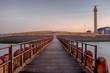 Leinwandbild Motiv Sonnenaufgang am Strand in Westkapelle, Zeeland