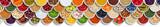 Früchte Beeren Gemüse Obst Nüsse Gewürze Zutaten Banner von oben - 242728563