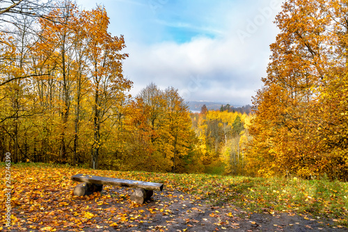 Upland Park is a landscape Park occupying the Orekhovaya mountain (174.2 m) at the Duderhof heights in Krasnoselsky district of St. Petersburg.