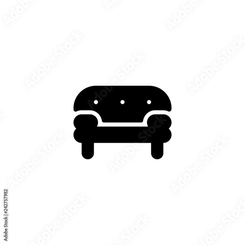 Sofa Icon Vector Sofa Vector Graphic Illustration Buy Photos Ap