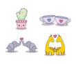 love card set icons