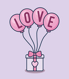 love card with giftbox - 242761564