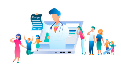 Vector Doctor Online has Written Treatment Recipe