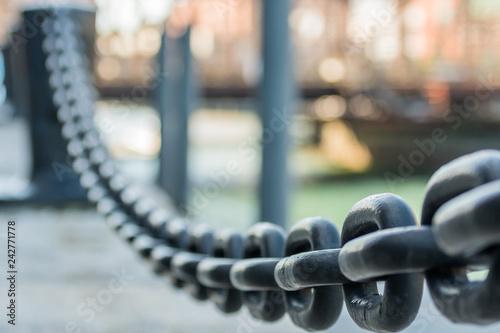 Large Iron Chain Links - 242771778