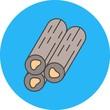 vector wood icon - 242772587