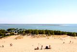 Famous dune of Pyla France. - 242783106