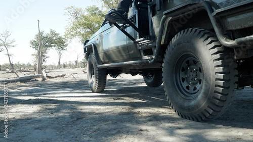 Safari adventure in Africa