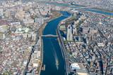 Fototapeta Fototapety do pokoju - 隅田川空撮 © zouroku