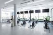 Crosstrainer im Fitness-Zenter