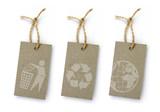 3 étiquettes recyclées - 242806501