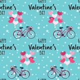 Valentine's Day seamless pattern. - 242809112