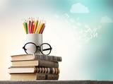 Day international school teachers blackboard books brazil - 242828727