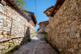 The street in Koprivshtitsa town,  Bulgaria