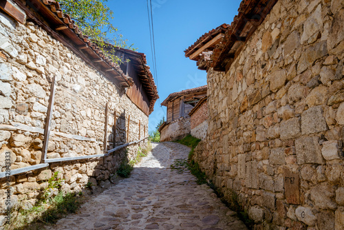 The street in Koprivshtitsa town,  Bulgaria - 242843333