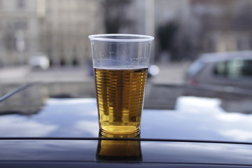stale beer don't drink and drive  © eahyeah
