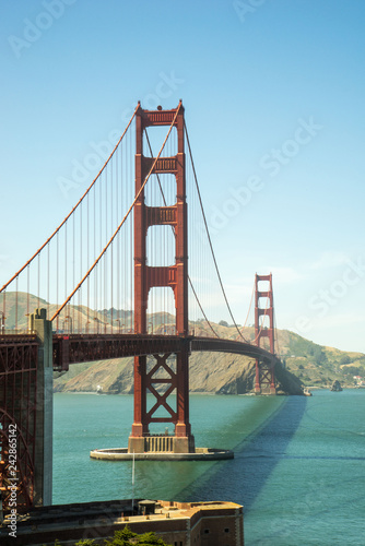 Foto Murales golden gate bridge in san francisco