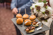 Mini Burger Platter | Wedding Catering Food - 242865938