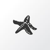 Starfish icon symbol. Premium quality isolated sea star element in trendy style. - 242875773