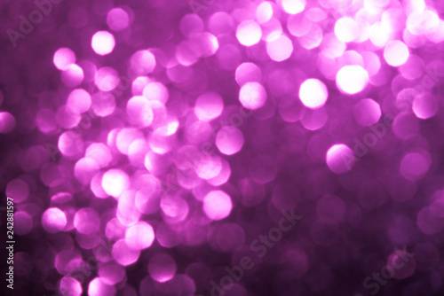 Abstract Pink Bokeh Background - 242881597