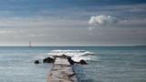 Velero navegando en la bahía de Palma - 242882398